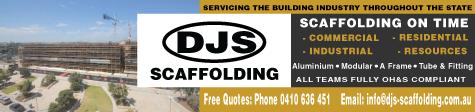 DJS Scaffolding - JCFC Sponsors
