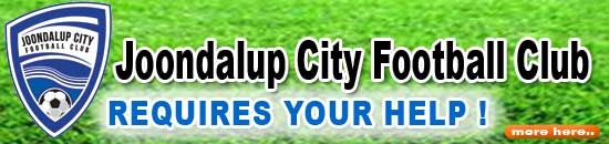 Joondalup City Football Club � Requires your help.